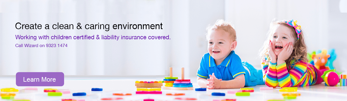 Child care cleaning services