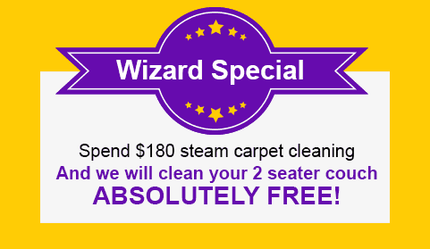 Cheap carpet cleaning specials